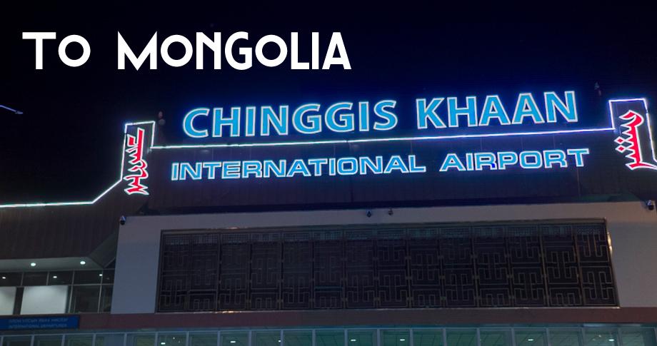 To Mongolia