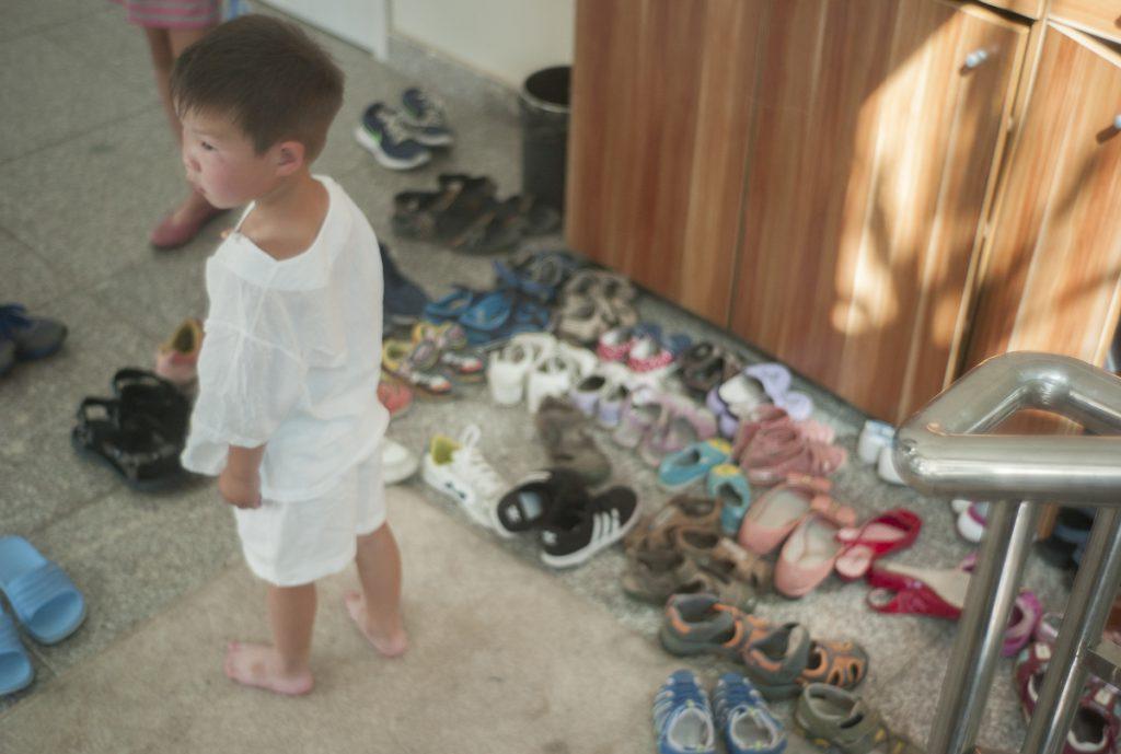 靴箱に入りきらない靴が溢れるほど大盛況でした。